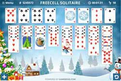 Christmas Solitaire Freecell.Spider Solitaire Free